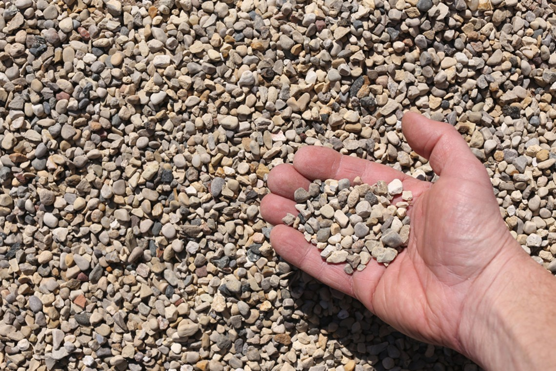rock river chat Gravel and stone sizes #10 description (smallest) also called screenings 1/8 of inch and smaller similar to a coarse sand used as a base material for paving stones or bricks also excellent for mixing with larger stones to help pack them in and prevent them from moving workable by hand and very easily compacted but will not work well in.