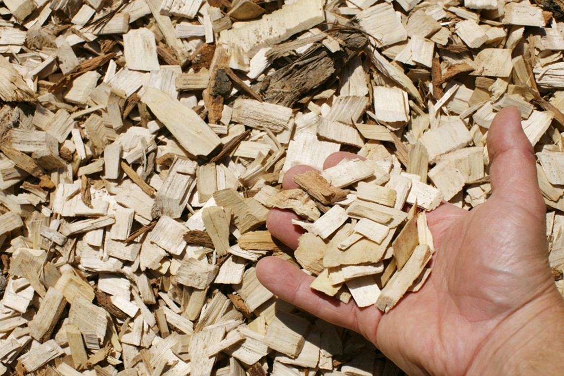 Hardwood Playground Chips